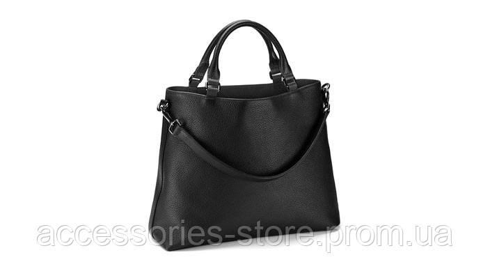 Женская кожаная сумка Audi Womans Handbag Black