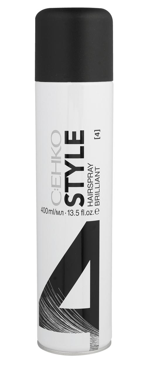C:EHKO STYLE Лак для волос БРИЛЛИАНТ (4) 400 мл.