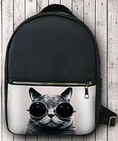 Прикольный городской рюкзак 14 л URBANSTYLE 145, черный