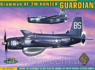 Grumman AF-2W Hunter GUARDIAN 1/72 ACE 72304