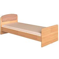 Кровать с матрасом односпальная Астория-2 сонома + трюфель Эверест (85х193х74 см)