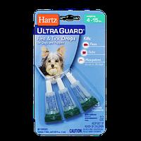 Капли 3в1 от блох клещей и комаров для собак и щенков до 7кг. (на 3 месяца) Hartz  H97836