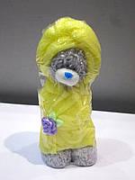 Мишка в халате - мыло ручной работы на подарок на день влюбленных