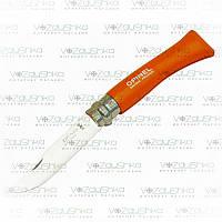 Opinel 7 VRI tangerine, складной нож (001426)