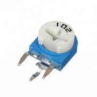 Резистор подстроечный WH06-1 100 Ом