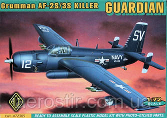 Grumman AF-2S/3S Killer GUARDIAN 1/72 ACE 72305