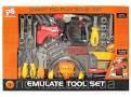 Набор инструментов 2088 (10шт) дрель, отвертки, наушники, в коробке 59*43*8см