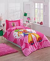 Красивое постельное бельё для подростков Halley Home PRENSES SV23