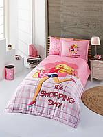 Красивое постельное бельё для подростков Halley Home BETTY SV23