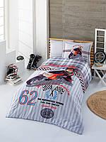 Красивое постельное бельё для подростков Halley Home SPEED SV23