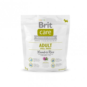 Brit Care ADULT SMALL BREED Lamb&Rice 1 кг - корм для собак мелких пород (ягненок/рис)
