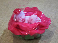 Мыло Малышка в розе - оригинальный подарок маме