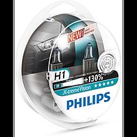 Автомобильная галогенная лампа Philips X-trime Vision H1 12V 55 W (производство Philips, Китай)