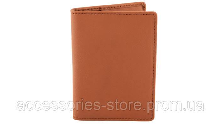 Футляр для кредитных карт Audi Credit card purse Poltrona Frau, Cognac Agatha