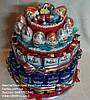Детский торт из сока,барни и киндер яиц на детский праздник №15
