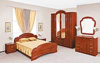 Спальный гарнитур Камелия, комплект мебели в спальню, цвет Кальвадос