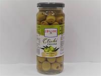 Оливки зелёные без косточки Helcom 345г.