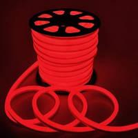 Светодиодная LED лента гибкий неон NEON FLEX R красная 220В 220V