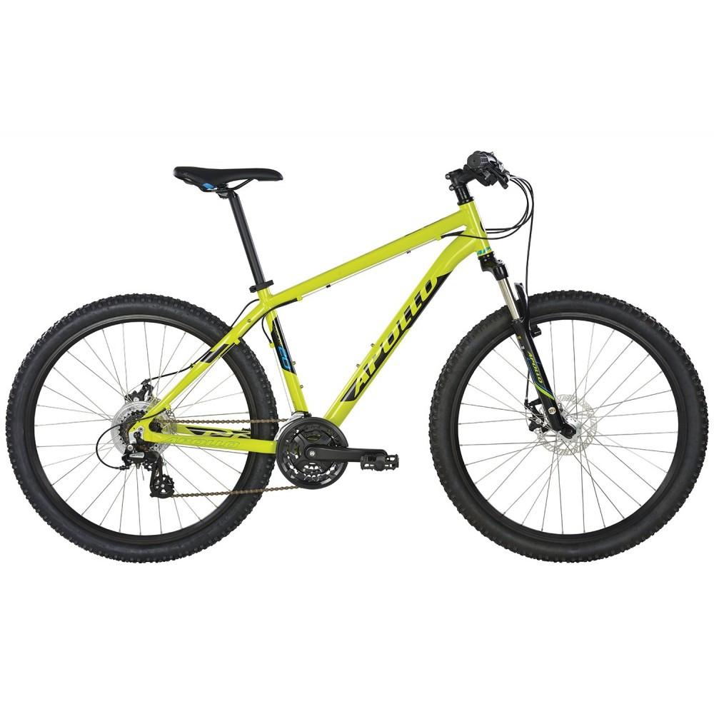 "Велосипед 27,5"" Apollo Aspire 20 рама - XL 2017 Gloss Lime/Gloss Black/Gloss Blue"