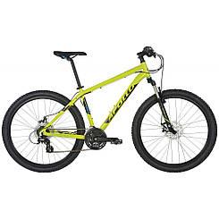 "Велосипед 27,5"" Apollo Aspire 20 рама - L 2017 Gloss Lime/Gloss Black/Gloss Blue"