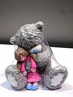 Подарок на день влюбленных - мыло Мишка с куклой