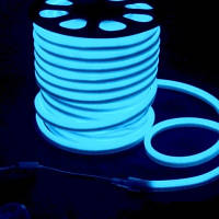 Светодиодная LED лента гибкий неон LED NEON FLEX B синяя 220В 220V
