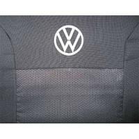 Чехлы в салон модельные для Volkswagen T-5 (1+2) 2003- (LUX)