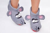 """Тапочки- игрушка    """"Мышка Норушка""""  (взрослые) от 33 до 45разм."""