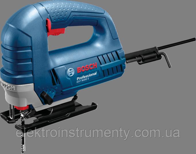 Лобзиковая пила Bosch GST 8000 E Professional - ELEKTROINSTRUMENTY в Киеве