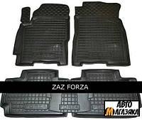 Коврики полиуретановые для ZAZ Forza (Avto-Gumm) 2011-2014