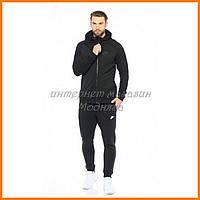 Черный трикотажный мужской Спортивный костюм Nike