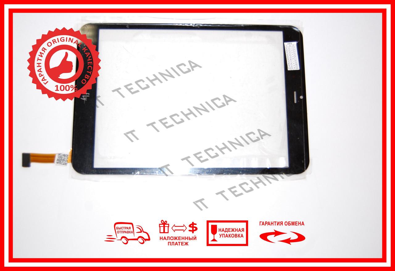 Тачскрін General Mobile Discavery Tab 8 3G Чорний