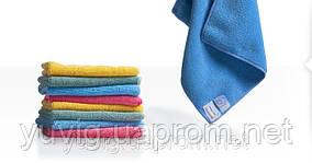 Салфетка для уборки поверхностей Softtronic 1 из микроволокна, цвет синий