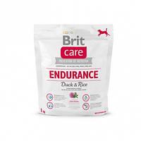Brit Care ENDURANCE 1 кг - гипоаллергенный корм для собак с повышенными физ. нагрузками (утка/рис)
