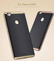 Чехол накладка IPAKY TPU + бампер PC для Xiaomi Mi Max золотистый