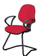 Кресло Поло CF/АМФ-4 Ткань А-28 красный.