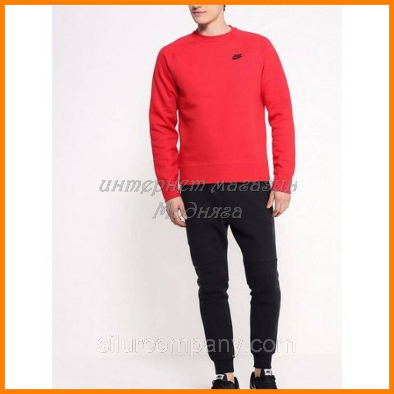 4adb2cc7 Спортивный костюм Nike с красным свитшотом: продажа, цена в Киеве, в ...