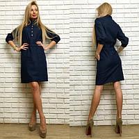 Женское джинсовое платье 8852