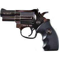 Зажигалка револьвер средний  арт(4151)