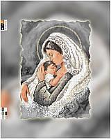 "Схема для вышивки бисером ""Мадонна с младенцем"", на холсте А3"
