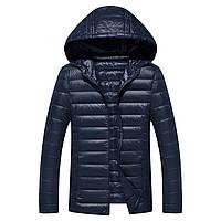 Мужская куртка с капюшоном. Мужская ветровка. Модель 987