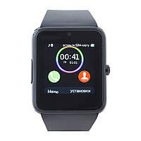 Смарт часы GT08 (ORIGINAL) Smart watch 1 sim, 1 SD карта. All black.