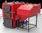 Котел РЕТРА-4МCombi-40 кВт з ретортним пальником твердопаливний сталевий, фото 5