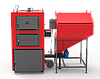 Котел твердопаливний сталевий РЕТРА-4МCombi-80 кВт(ретортний пальник)