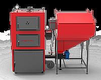 Котел твердопаливний сталевий РЕТРА-4МCombi-80 кВт(ретортний пальник), фото 1