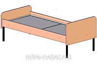 Кровати для детского сада одноместные (1432*640*590h)
