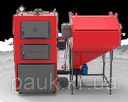 Котел твердопаливний промисловий 100 кВт РЕТРА-4М Trio, з ретортним пальником