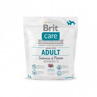 Brit Care (Брит Кеа) Grain-free ADULT Salmon&Potato 1кг - беззерновой корм для собак (лосось/картофель)
