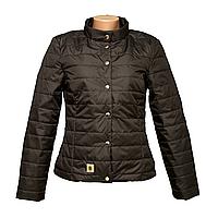Куртка женская черная производства Украина  KD1375-1
