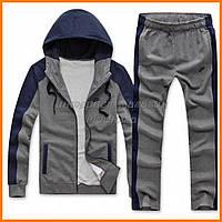Серо-синий спортивный костюм Nike
